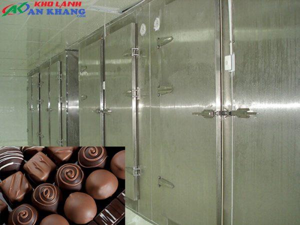 Lắp đặt kho bảo quản Chocolate