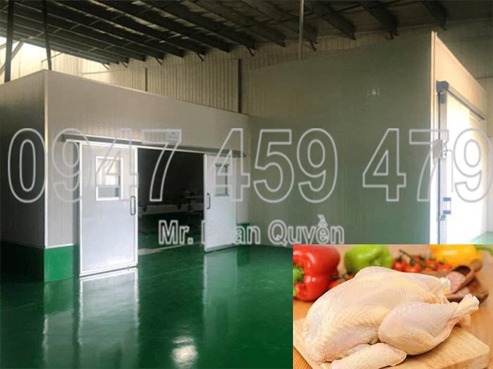 Kho đông bảo quản thịt gà