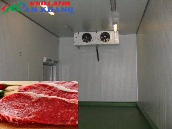 kho lạnh trữ thịt bò Úc
