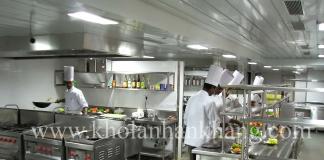 Kho đông trong bếp công nghiệp