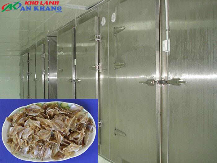 Kho lạnh trữ xương cá khô