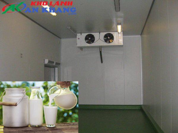 Kho lạnh bảo quản sữa tươi